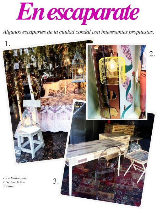 Mercy Guzmán, Escaparates, Visual Merchandising, Pilma, System Action, La Mallorquina, Tiendas