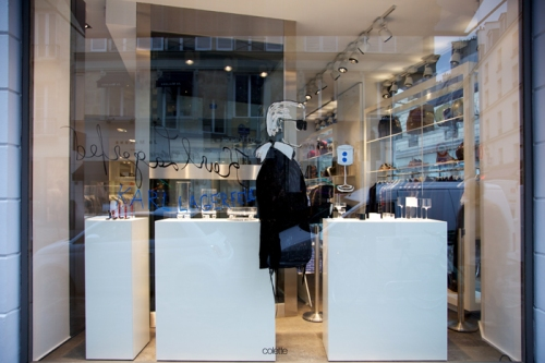 Colette, Karl Lagerfeld, Paris, Escaparates, Moda, Ilustración, Concept Store, The Visual Corner