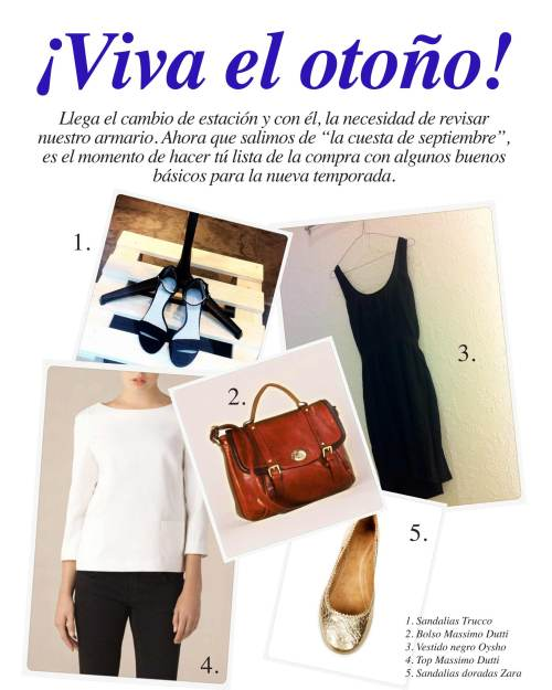 Mercy Guzmán, Massimo Dutti, Zara, Trucco, Oysho, Moda, Tendencias, Otoño 2011