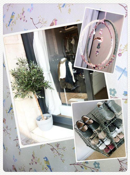 Bambola, Lucila Natale, Barcelona, Sarria, tiendas niños, puericultura, moda infantil, manualidades, papel pintado
