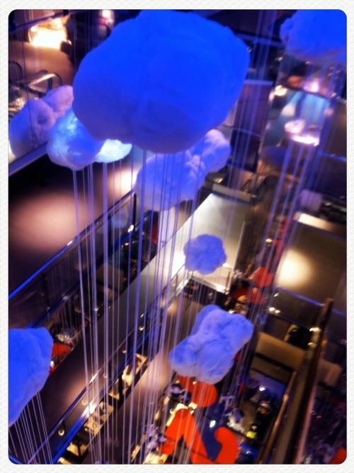 Pedralbes Center, Fer, Interiorismo, Instalación, otoño 2011, barcelona, pedralbes, the visual corner, mercy guzmán