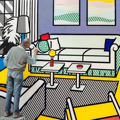 Roy Lichtenstein, Laurie Lambrecht, Pop Art, Manhattan, Guggenheim Museum, The Visual Corner, Random House, Mercy Guzmán, Books, Libros
