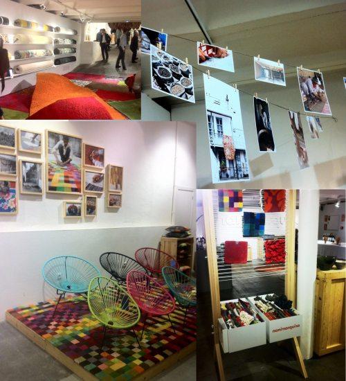 Alfombras, Barcelona, Barcelona Design Week, Bouroullec, Decoración, Diseño, Erwan Bouroullec Ronan, Interiorismo, Losange, Muebles con palets, Muebles reciclados, Nani Marquina, textiles, the visual corner. Guarda el enlace permanente. Editar