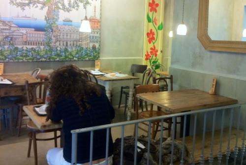 Buenas migas, sant Gervasi, Foccaceria, Interiores comerciales, Restaurantes Barcelona, Italiano, Genovese, Take Away, The Visual Corner, Mercy Guzmán