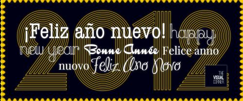 Mercy guzman, Mercy Guzmán, The Visual Corner, Feliz Año, Año nuevo, Happy new year, bon nadal, 2012